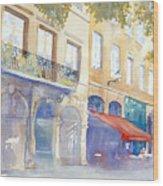 Place De La Baleine Wood Print