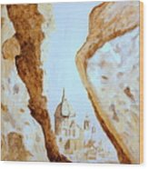 Places Of Worship Wood Print