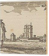 Plan General Du Chasteau Et Petit Parc De Vincennes Wood Print
