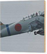 Plane On The Chesapeake Bay Wood Print