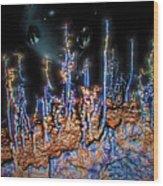 Planet Ceti Alpha Nine Wood Print