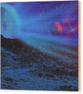 Planet X Wood Print