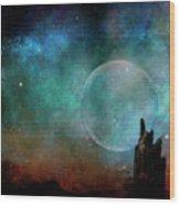 Planetary Soul Chava Wood Print