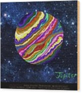 Planets 4 5 6 Astronomy Wood Print