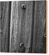 Planks Wood Print