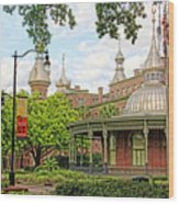 Plant Hall University Of Tampa Wood Print