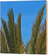 Plant Wood Print