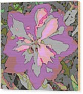 Plant Power 6 Wood Print by Eikoni Images