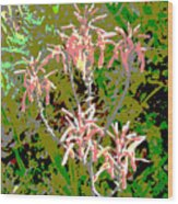Plant Power 8 Wood Print by Eikoni Images