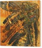Plastered - Tile Wood Print