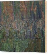 Plastic Colour Wood Print