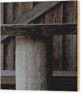 Platform Wood Print