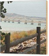 Platte-winner Bridge Wood Print