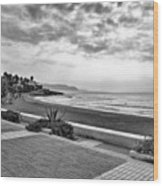 Playa Burriana, Nerja Wood Print