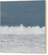 Playa Hermosa Wave Number Four Central Pacific Coast Costa Rica Wood Print