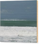 Playa Hermosa Wave Number One Central Pacific Coast Costa Rica Wood Print