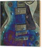 Playin The Blues Wood Print