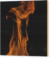 Playing With Fire 2 Wood Print