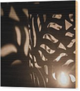Playing With Shadows Wood Print