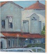 Plaza Del Mar Wood Print