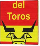 Plaza Del Toros Wood Print