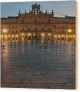 Plaza Mayor In Salamanca Wood Print