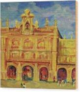 Plaza Mayor Salamanca Wood Print