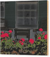 Pleasant Evening Wood Print