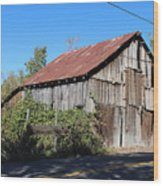 Pleasant Valley Barn 6 Wood Print