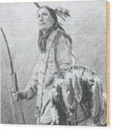 Taopi Ota - Lakota Sioux Wood Print by Brandy Woods