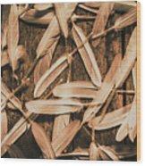 Plight Of Freedom Wood Print