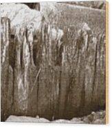 Plimouth Wood Wood Print
