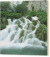 Plitvice Lakes Wood Print