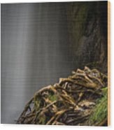 Plitvice Waterfalls Wood Print