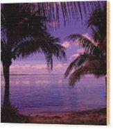 Plum Paradise Wood Print