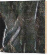 Plumed Serpent Wood Print