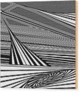 Plunk Wood Print