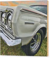 Plymouth Belvedere II  Wood Print
