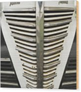 Plymouth Grille Wood Print