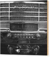 Plymouth Radio Wood Print