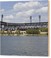 Pnc Park Pittsburgh Pa Wood Print