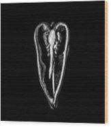 Poblano Pepper Wood Print