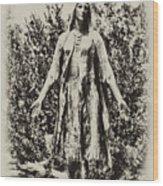Pocahontas Wood Print