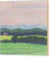 Pocahontas County Wood Print