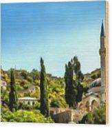 Pocitelj Bosnia Wood Print