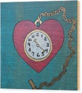 Pocketwatch Wood Print