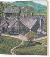 Poet Wood Print