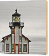 Point Cabrillo Lighthouse California Wood Print