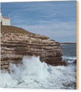 Point Conception Lighthouse Wood Print