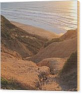Point La Jolla Wood Print